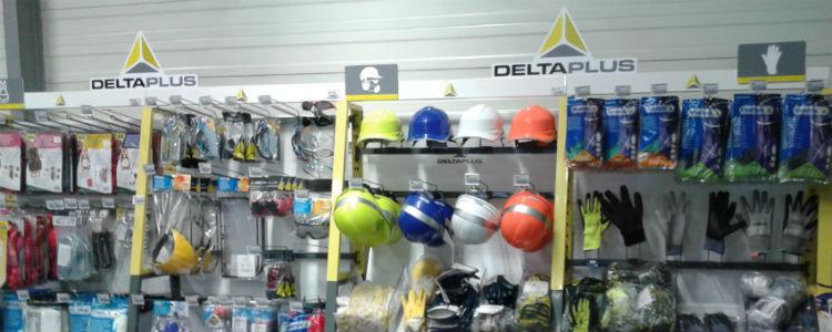 розничный магазин с товарами Delta Plus